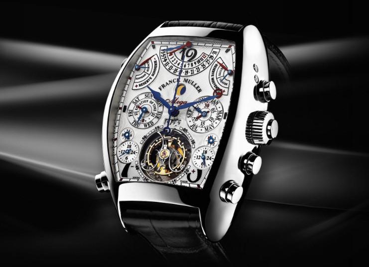 法穆兰手表表蒙磨损