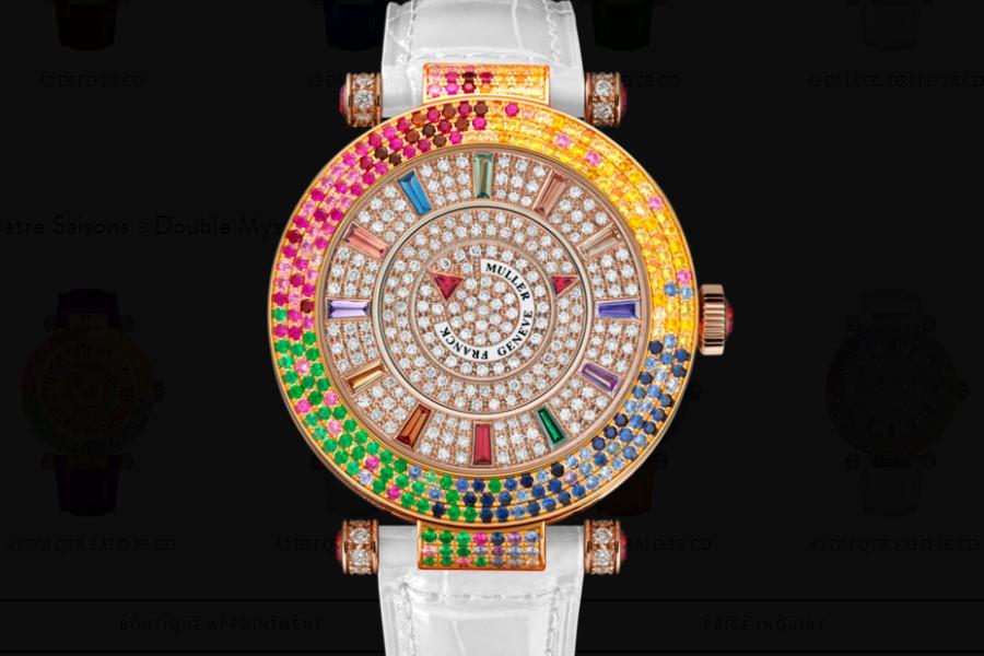 法穆兰售后中心保养法穆兰腕表的相关注意事项