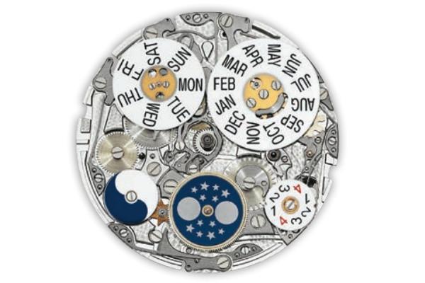 为什么不能换更换法穆兰腕表的机芯
